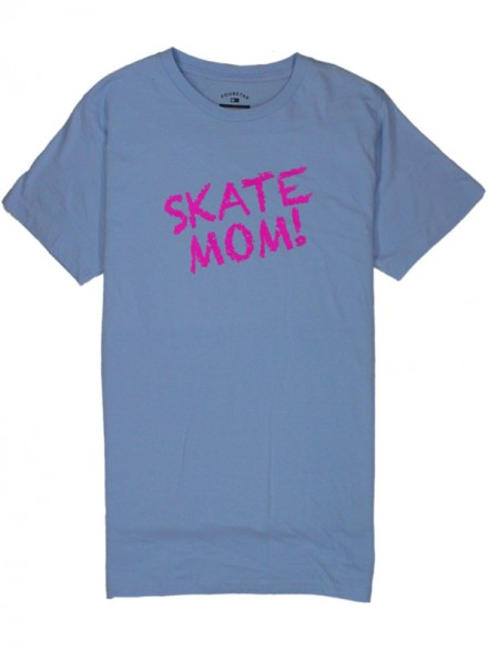 Playera Fourstar Skate Mom Light Blue S