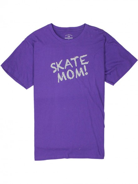 Playera Fourstar Skate Mom Purple