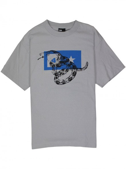 Playera Fourstar Snake Silver Medium