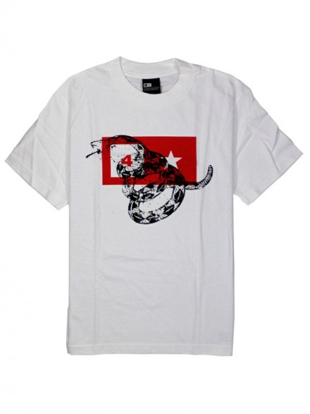 Playera Fourstar Snake White Small