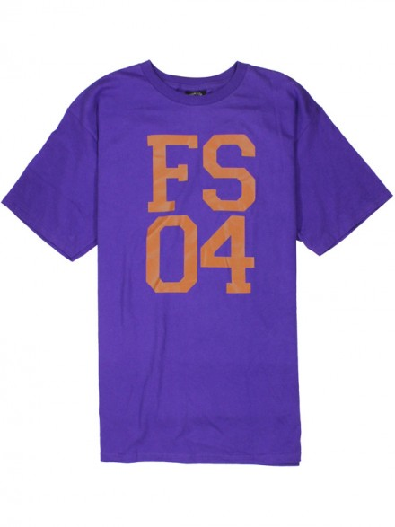 Playera Fourstar Stacked Fs04 Purple M