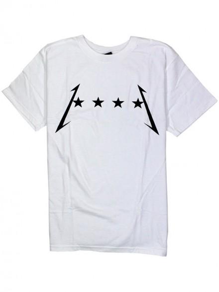 Playera Fourstar Thunder White
