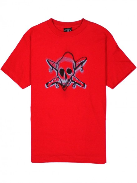 Playera Fourstar Warped Red