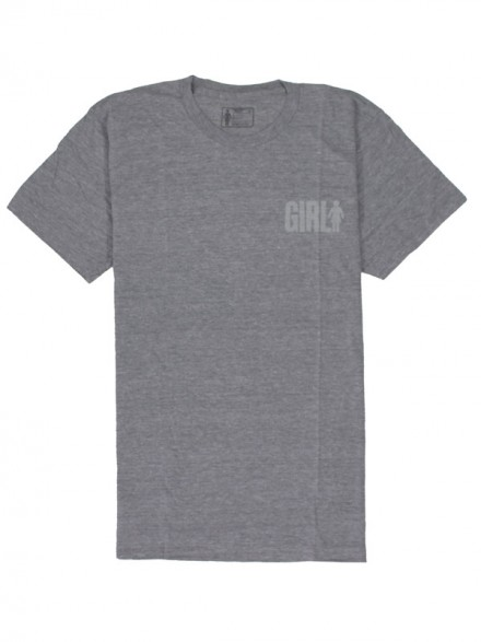 Playera Girl Big Tri Blend Htr Gry
