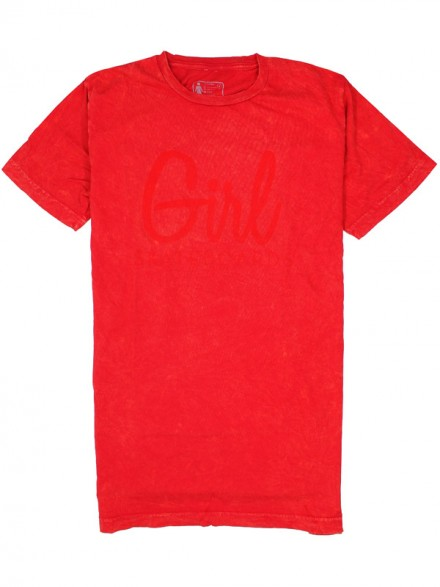 Playera Girl Century Mineral Red