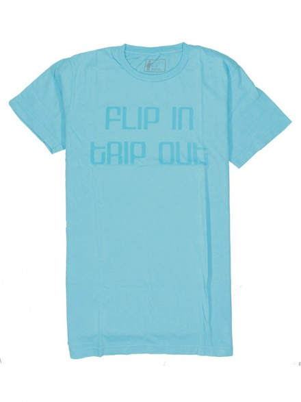 Playera Girl Flip In Trip Min Teal