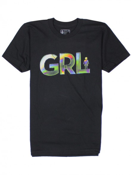 Playera Girl Spectrum Blk