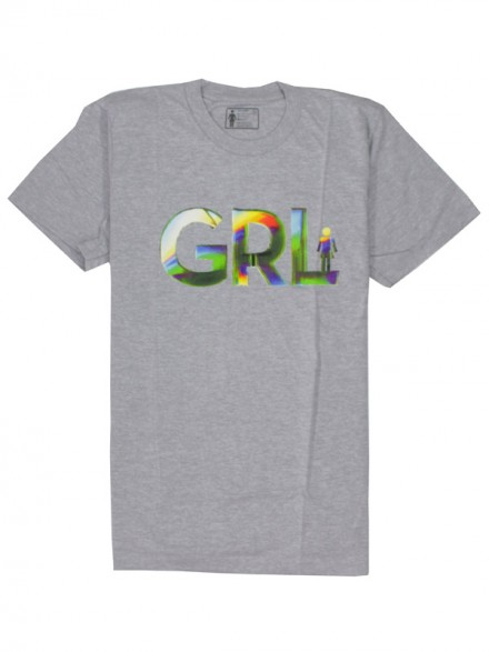 Playera Girl Spectrum Gry