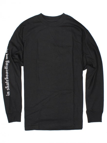 Playera Girl X Wrench Trust Blk L/S