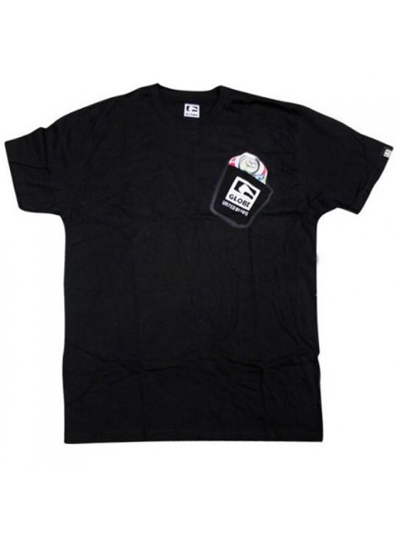 Playera Globe Canned Heat S/S Blk
