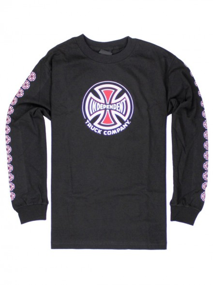 Playera Independent Truck Co L/S Black