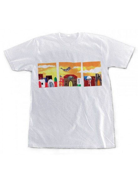 Playera Krooked Flying On Sigs S/S White X-Large