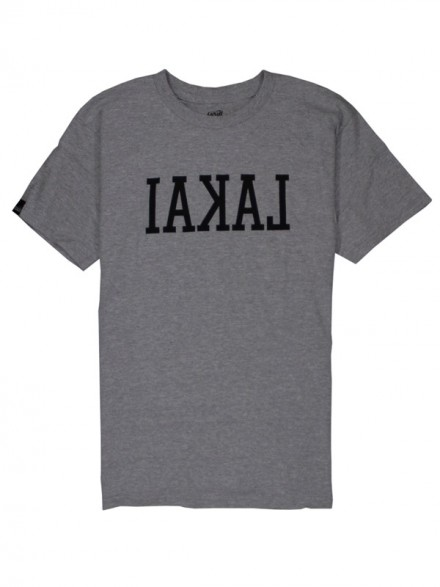 Playera Lakai Backwards Ath/Htr/Gry