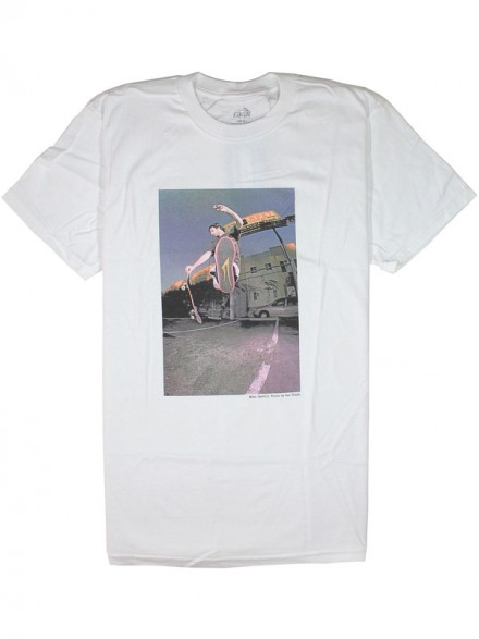 Playera Lakai Carroll White S