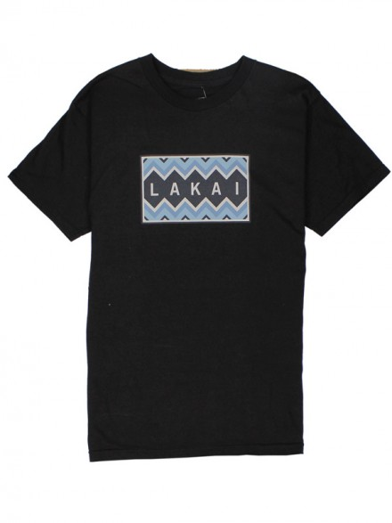 Playera Lakai Chevron Black S