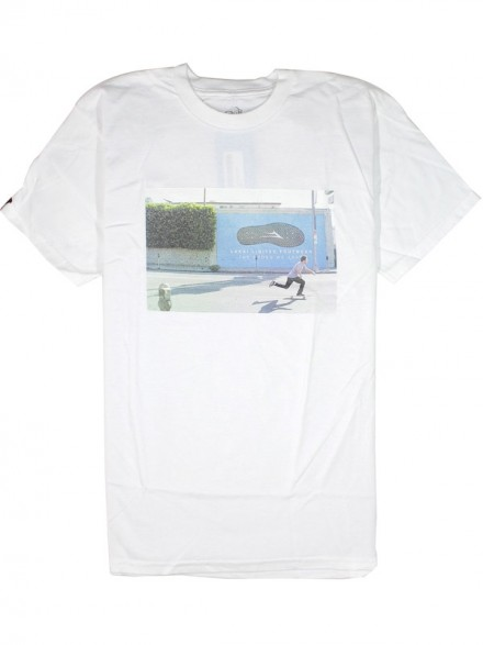 Playera Lakai La Brea Wall White
