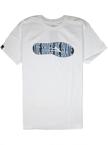 Playera Lakai Motto White