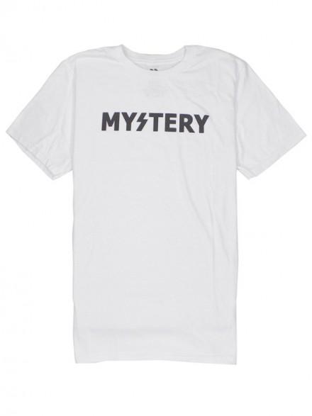 Playera Mystery Logo Premium S/S White