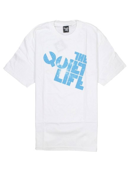 Playera Quiet Life Cosmos Block White