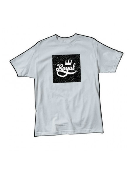 Playera Royal Bolts S/S Silver S