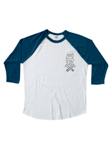 Playera Royal Rider 3/4 Sleeve Roy/Wht