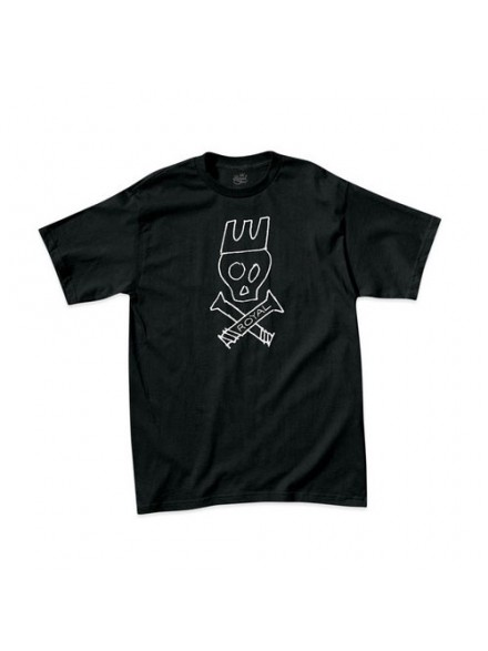 Playera Royal Skull Standard Blk