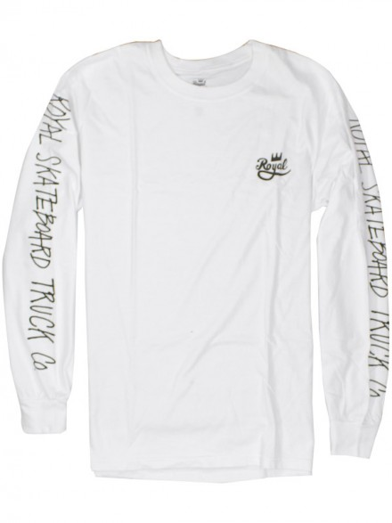 Playera Royal Stress L/S Wht