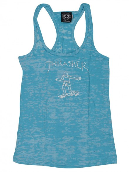 Playera Tank Thrasher Gonz Racerback Blue