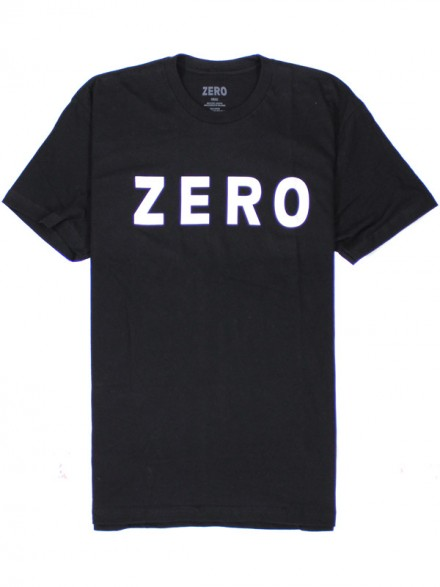 Playera Zero Army Premium S/S Blk S