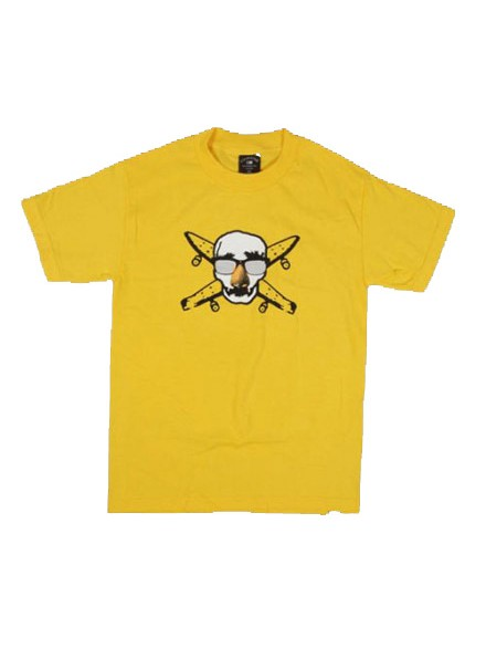 Playera Fourstar Disguise Youth Yellow L