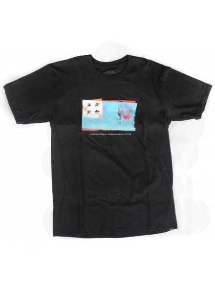 Playera Fourstar Flag Premium Black M