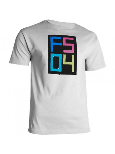Playera Fourstar Lined Youth White S