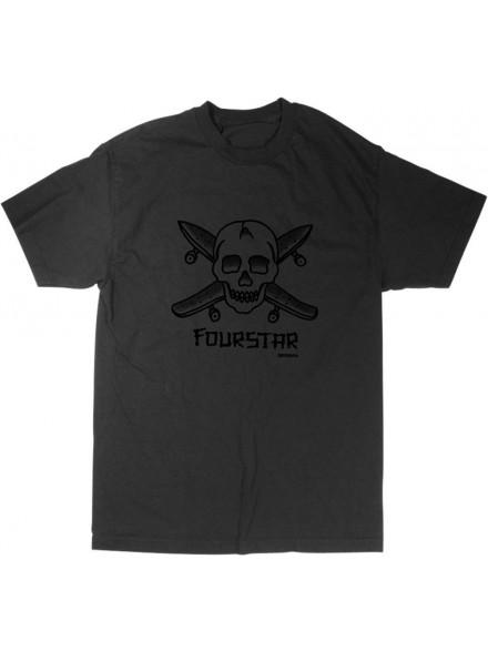 Playera Fourstar Street Pirate Grey M