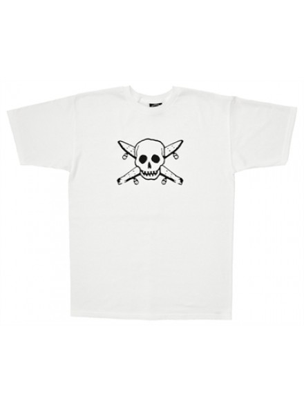 Playera Fourstar Street Pirate White M