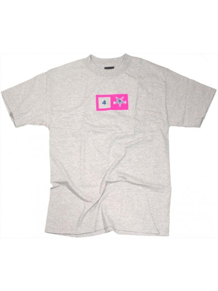Playera Fourstar Thrasher White Small