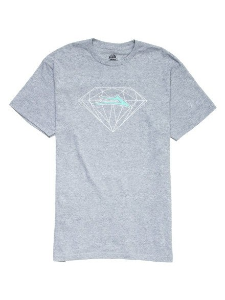 Playera Lakai X Diamond Heather Grey S