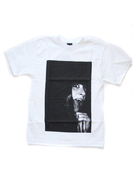 Playera Quiet Life Vampire Girl White