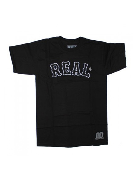Playera Real On Deck S/S Blk/Wht