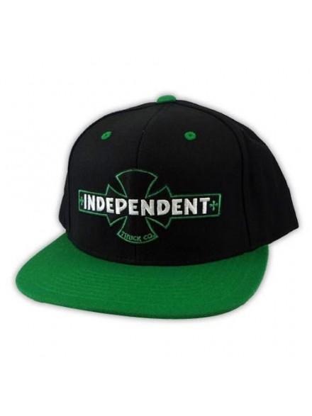 Gorra Independent Painted B/C Starter Blk/Green