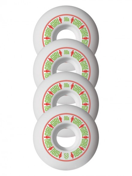 Ruedas Skate Girl Softline 53 mm