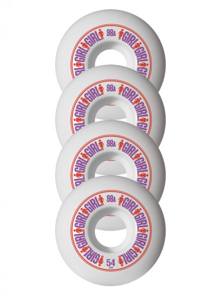 Ruedas Skate Girl Softline 54 mm