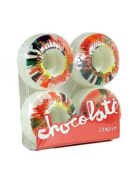 Ruedas Skate Chocolate Spinners 51 Mm