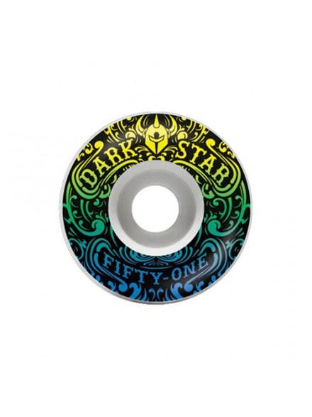 Ruedas Skate Darkstar Convolute Price Knight White/Yellow 51 Mm