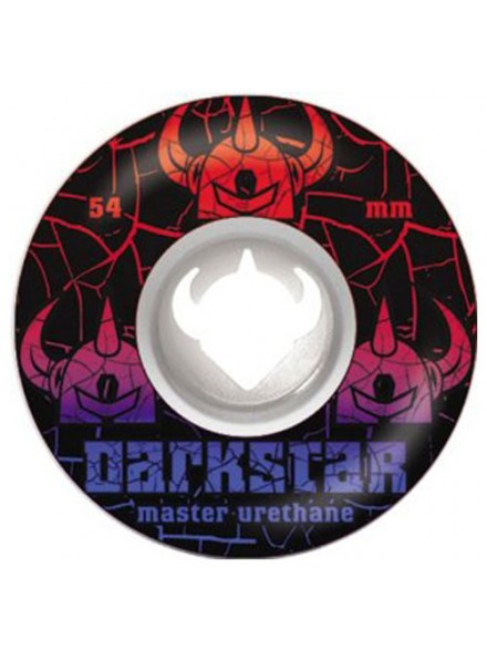 Ruedas Skate Darkstar Crack Street Formula White/Red 54 Mm