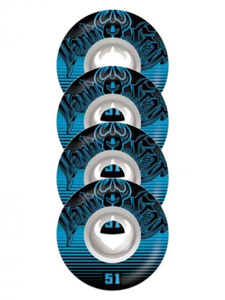 Ruedas Skate Darkstar Spike Street Formula White/Blue 51 Mm