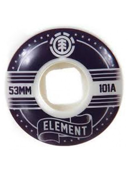 Ruedas Skate Element Banner Street 53 Mm