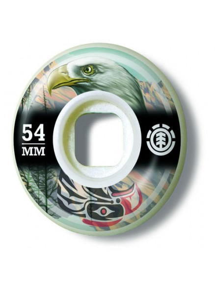Ruedas Skate Element Eagle Spirit Animal 54 Mm