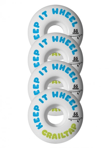 Ruedas Skate Girl Crail Keep It Hard 55 mm