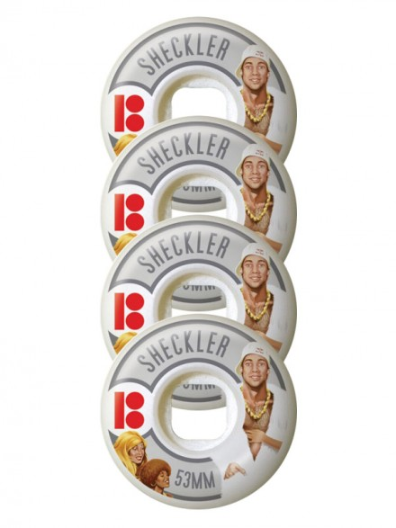 Ruedas Skate Plan B Sheckler Action 53 Mm