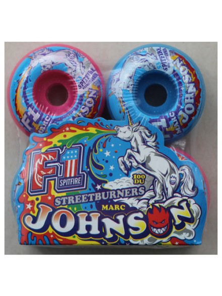 Ruedas Skate Spitfire F1sb Johnson Sprtanml Msh 53 Mm